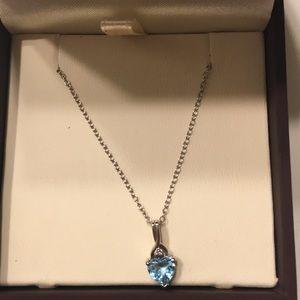Birth stone necklace brand new!